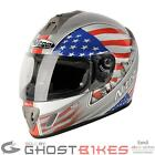 NITRO NGFP USA AMERICA FULL FACE ACU GOLD MOTORBIKE MOTORCYCLE RACING HELMET
