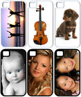 Personalized iPhone 4/4s/5/5s Custom Photo Hybrid Hard Plastic/RUBBER Cover