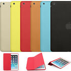 Leather Smart Case Cover Slim Wake Fit For MF051LL/A Apple iPad Air Colorful