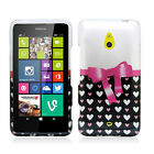 For Nokia Lumia 1320 Hard Protector Case Snap on Phone Cover + Screen Protector
