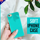 Jelly Colour Glossy Silicone Gel TPU Soft Case Cover for Apple iPhone 5S 5 AU