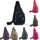 Unisex Nylon Travel Hiking Bike Riding Messenger Shoulder Sling Chest Bag Pouch