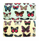 ELLA BUTTERFLY PRINT PATENT PURSE AVAILABLE IN MINT AND NUDE 72676