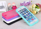 For Apple iPhone5 5S TPU Wrap Up Phone Case Cover with Built In Screen Protector