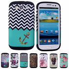 Fascinating Dustproof Phone Skins Cases Covers Shell For Samsung Galaxy S3 i9300