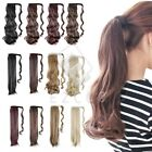 Hot Fashion Women Straight Curly Clip In Ponytail Hair Extensions Hair Piece Wig