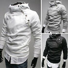 UK FAST Mens Top Long Sleeve Hoodies Coat Casual Sports Sweater Jacket Outerwear