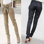 97k KDQ7 Women Fashion Harem Skinny Long Trousers OL Casual Slim  Pants WF-3568