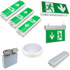 Biard LED Maintained Non Maintained Emergency Lighting Exit Sign Bulkhead Light
