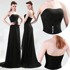 New Graceful Chiffon Sexy Long Formal Prom Party Evening Gown Bridesmaid Dress