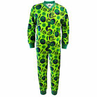 Marvel Avengers Incredible Hulk Official Boys Kids Pyjama Onesie (RRP £14.99!)
