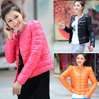 Fashion Women's Winter Slim Fitted Thin Short Cottond OutWear Jacket Coat Tops