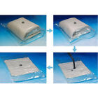 VACUUM TRAVEL STORAGE BAGS SMALL MEDIUM LARGE XLARGE LUGGAGE SPACE SAVER BAGS