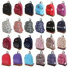 Mens Boys Girls Retro Designer Backpack Rucksack School Gym College Travel Work