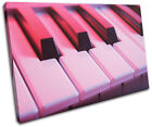 Piano INSTRUMENTS  Musical SINGLE CANVAS WALL ART Picture Print VA