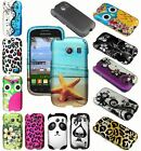 For Samsung Galaxy Ace Style S765C Cover Hard Rubberized Design Outer Shell Case