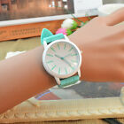 Korean unisex Women Men candy color silicone strap jelly wrist watch Quartz