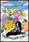 "ADVENTURE TIME WITH FINN & JAKE - FRAMED POSTER / PRINT (CLOUDS) (24"" X 36"")"