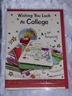 COLLEGE CARD GOOD LUCK NEW SCHOOL DEGREE CUTE TRAD GOOD LUCK AT COLLEGE CARD