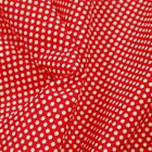 Christmas Polka Dot Spots Red And Green Polycotton Fabric