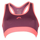 Womens More Mile Womens More Mile Crop Top in Purple From Get The Label