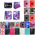 For Various Amazon Kindle Tablets New PU Printed Leather Flip Case Cover+ Stylus