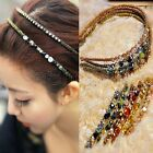 Hot Retro Rhinestone Crystal Headband Barrette Hairpin Hairgrip Clips Jewel S003