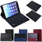 For iPad Air 5 Smart Magnetic Leather Cover Case W / Removable Bluetooth Keyboard