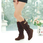 Fashion Women's High Boots In Winter Bowknot With increased in Knight Boot
