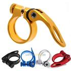 34.9mm MTB Bike Cycling Saddle Seat Post Clamp Quick Release QR Style New LS4G