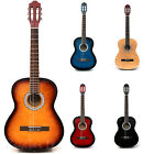 Rio 4/4 Full Size Student Adult Beginner Acoustic Guitar Package Pack Outfit New