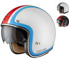 LIMITED EDITION BLACK CLASH BULLET SPEED OPEN FACE SCOOTER MOTORCYCLE HELMET
