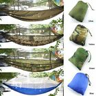 Portable High Strength Hammocks Jungle Camping Hammock Mosquito Net Military