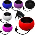 3.5mm PORTABLE MINI CAPSULE SPEAKER+BLACK PLUG COMPATIBLE WITH HUAWEI ASCEND P6