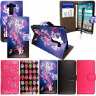 For LG G3 Stylish Printed PU Leather Book Wallet Flip Case Cover Pouch +Stylus