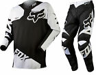 NEW 2015 FOX RACING 180 RACE MX DIRT BIKE MOTOCROSS GEAR COMBO BLACK ALL SIZES
