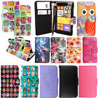 For Nokia Lumia 625 Printed PU Leather Card Pocket Wallet Flip Case Cover+Stylus