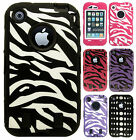 Apple iPhone 3G 3GS IMPACT RESISTANT Hard Rubberized Phone Case Cover Accessory