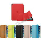 For ME710LL/A Apple iPad mini 1 2 Genuine Leather Smart Case Cover Slim Wake