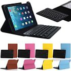 Smart Magnetic Case Cover With Bluetooth Keyboard For New iPad Mini 3 iPad Air 2