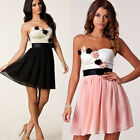 cheap new Party Strapless Short Evening Cocktail Formal Mini Bridesmaid Dresses