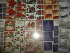 A4 Die Cut Cardmaking Decoupage Sheet G18 Duo Twists Christmas Various Designs