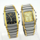 4 Style Chooes Luxury Fab Gold Silver Man Stainless Steel Quartz Wristwatch NG11