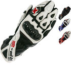 OXFORD RP-2 LEATHER ARMOURED SUMMER MOTORCYCLE SPORTS RACING TRACK BIKE GLOVES