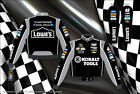 Jimmie Johnson Lowes Kobalt Gray Black Jacket Coat Nascar Adult Mens Size 3XL