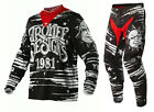 NEW 2015 TROY LEE DESIGNS TLD GP OUIJA MX DIRT BIKE GEAR COMBO BLACK ALL SIZES