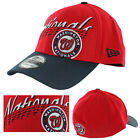 New Era Washington Nationals MLB Double Edge Flex Hat