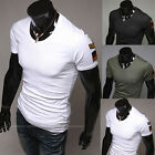 Competitive Prices Men's Sexy Slim Fit Short Sleeve Round Neck Casual T-Shirt