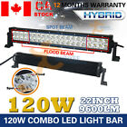 120W Led Light Bar Spot Flood Combo Work Driving Atv Ute Suv Offroad 4WD VS 180W