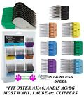 1-Clipper Blade Stainless Steel Universal GUIDE COMB*FIT Most Oster,Andis,Wahl